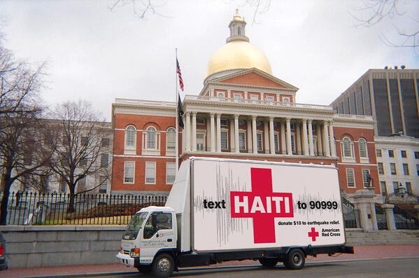 Red Cross Haiti Disaster Relief Grassroots Marketing Examples